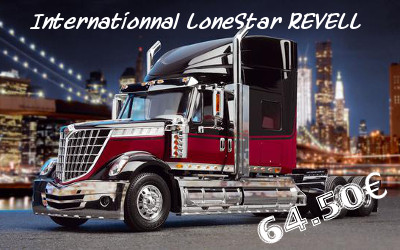 camion international lonestar revell