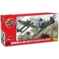 Maquette avion DOGFIGHT DOUBLE JUNKERS  JU88 / HURRICANE*