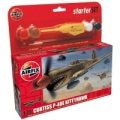 SMALL STARTER SET - CURTISS P-40E KITTYHAWK