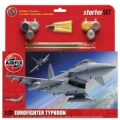 Maquette avion AIRFIX Eurofighter Typhoon Large Starter Set
